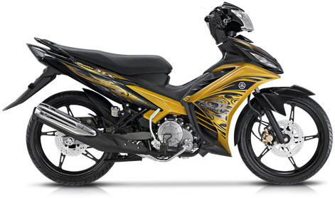 New Jupiter MX vs Honda CS-1 vs Suzuki Satria vs Kawasaki Athlete